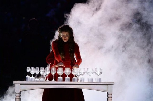 Who «broke ice» at opening of Paralympic games? PHOTO of